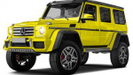 Mercedes-Benz G550 4x4 Squared bulb size